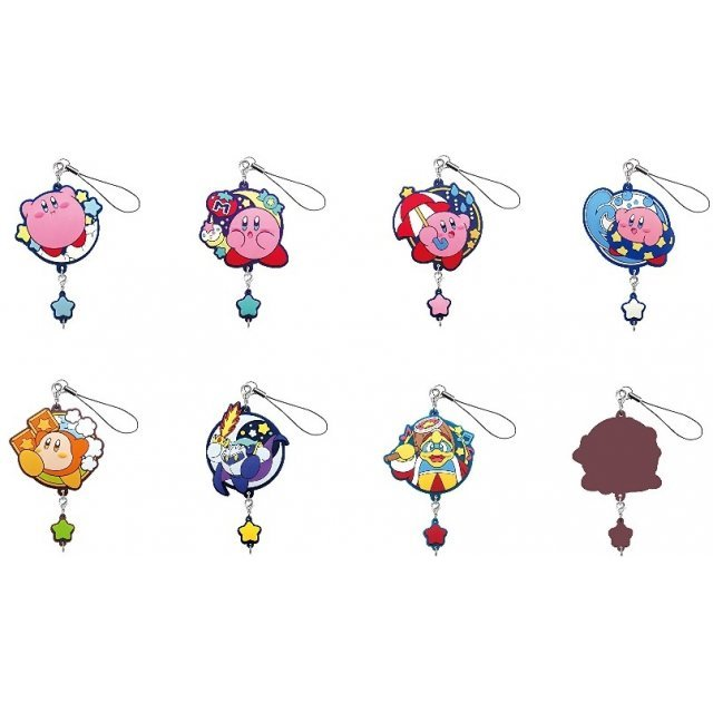 Kirby's Dream Land Connectable Rubber Strap (Set of 8 pieces)