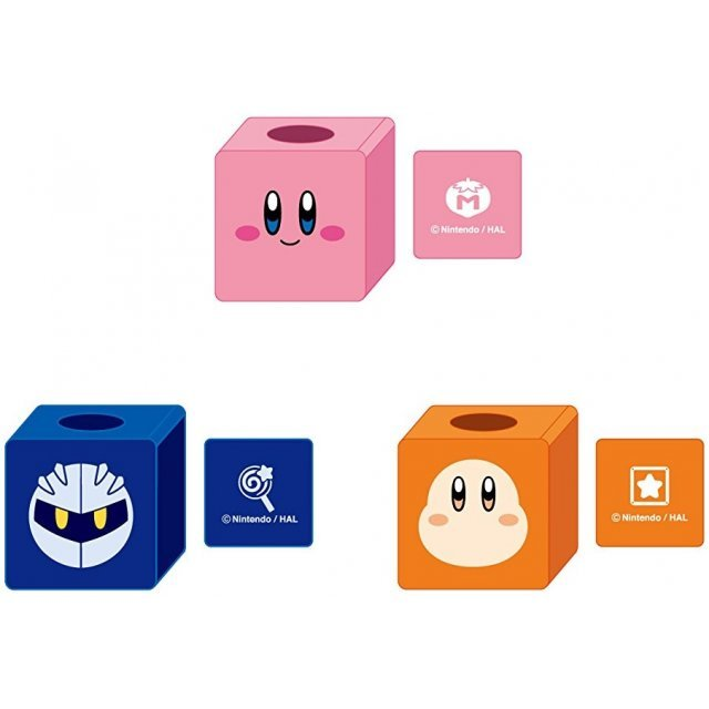 Kirby's Dream Land Cube Stand (Set of 6 pieces)
