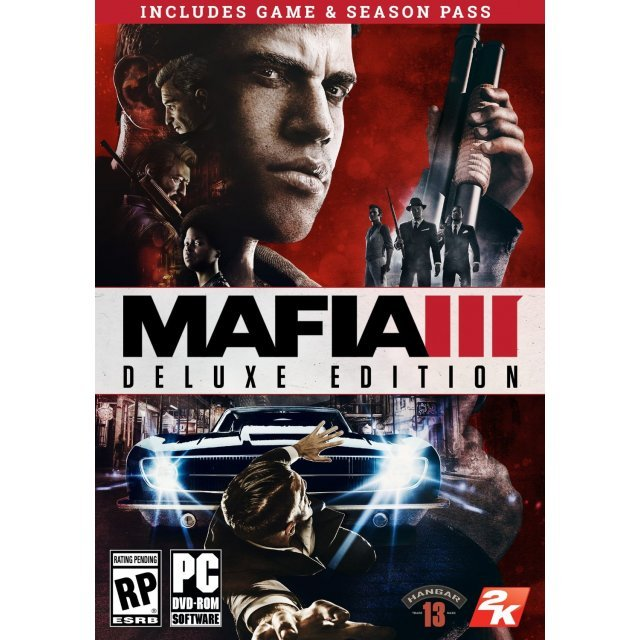 Mafia III [Deluxe Edition] (DVD-ROM) (English & Chinese Subs)