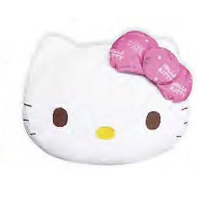 Hello Kitty Premium Mocchiri Face Cushion Pink