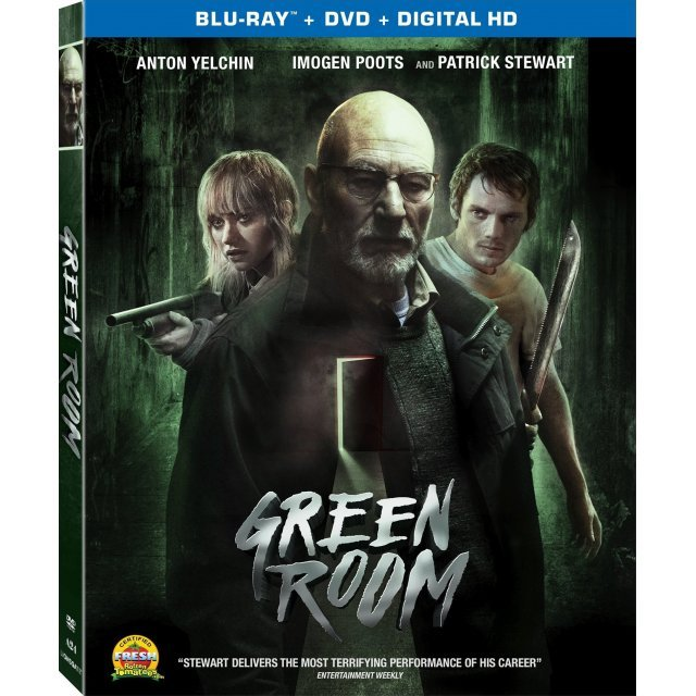 Green Room [Blu-ray+DVD+UltraViolet]