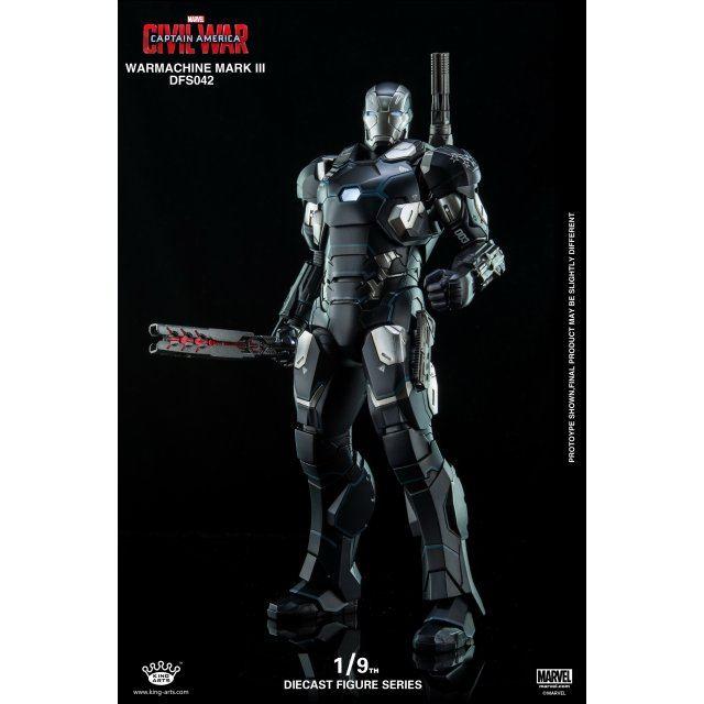 King Arts Captain America Civil War 1/9 Diecast Figure Series: War Machine Mark III