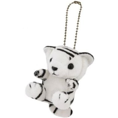 Kyun Kyun Mini Mascot Plush: White Tiger