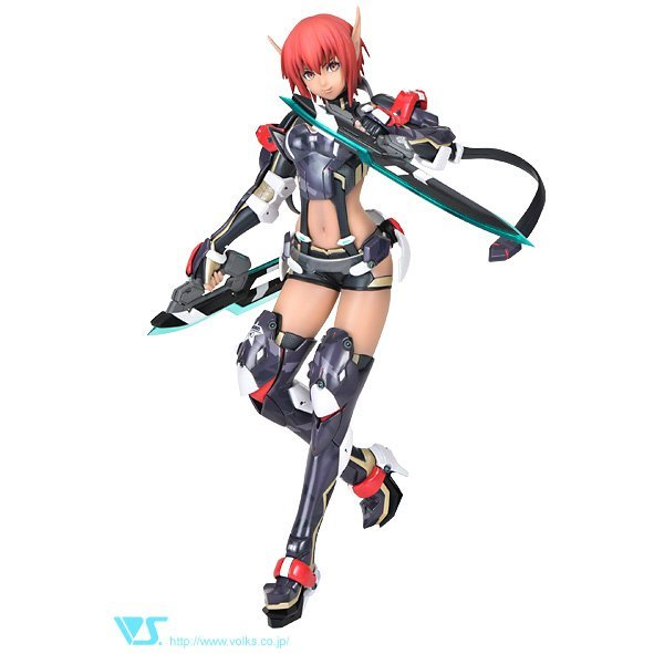 Phantasy Star Online 2 CharaGumin 1/8 Scale Color Resin Kit: HUnewearl