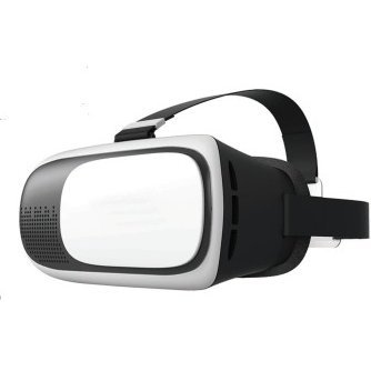 Virtual Reality Headset for Smartphones w/ Bluetooth Controller