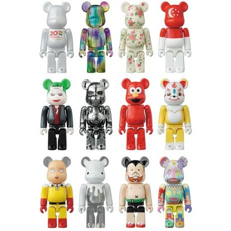 Be@rbrick Series 32 (Set of 24 pieces)