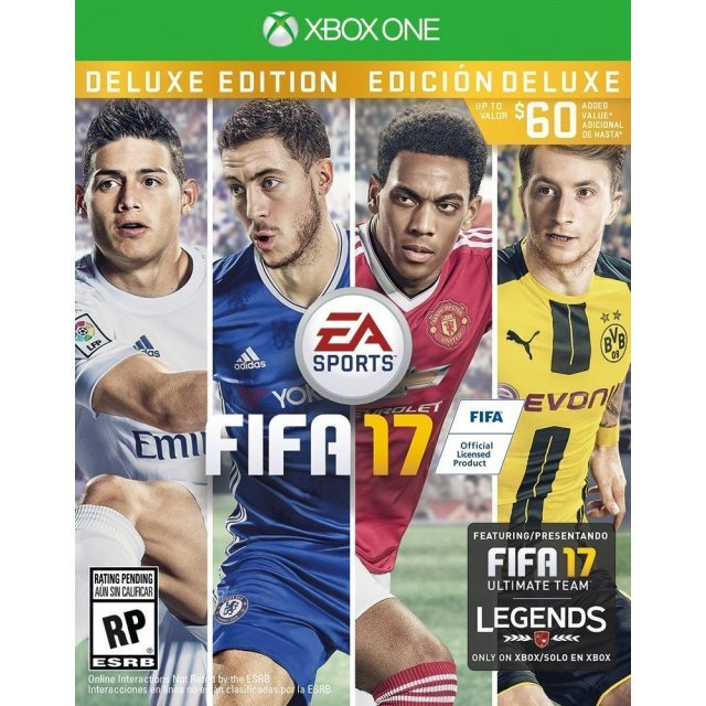 FIFA 17 [Deluxe Edition] (English & Chinese Subs)