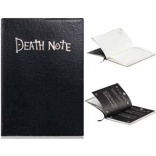 Frogwill Anime Death Note Cosplay Notebook Feather Pen