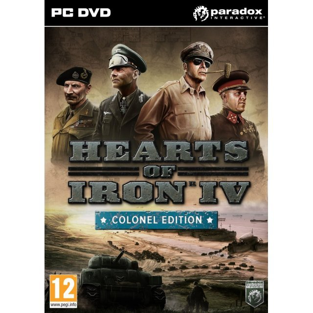 Hearts of Iron IV [Colonel Edition] (DVD-ROM)