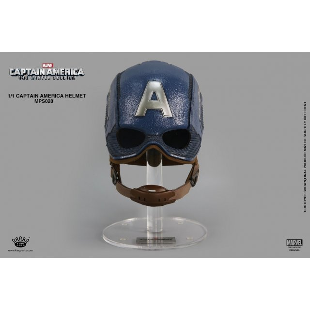 King Arts 1/1 Movie Props Series Captain America The Winter Soldier: Captain America Helmet