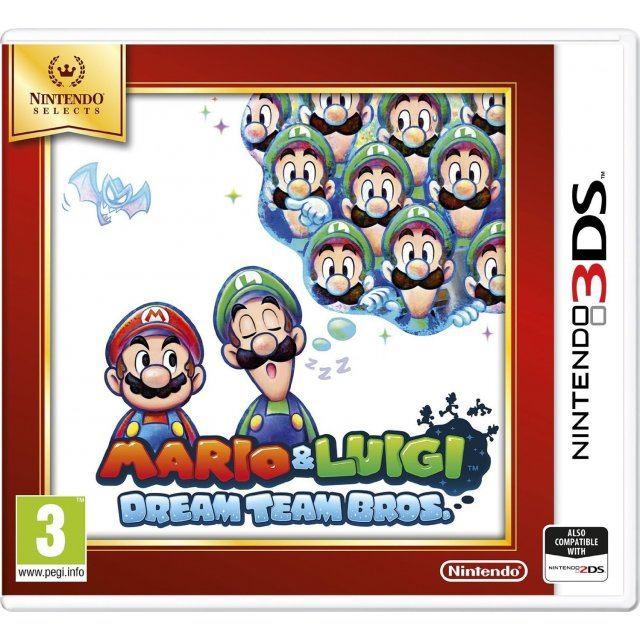 Mario Luigi Dream Team Bros Nintendo Selects