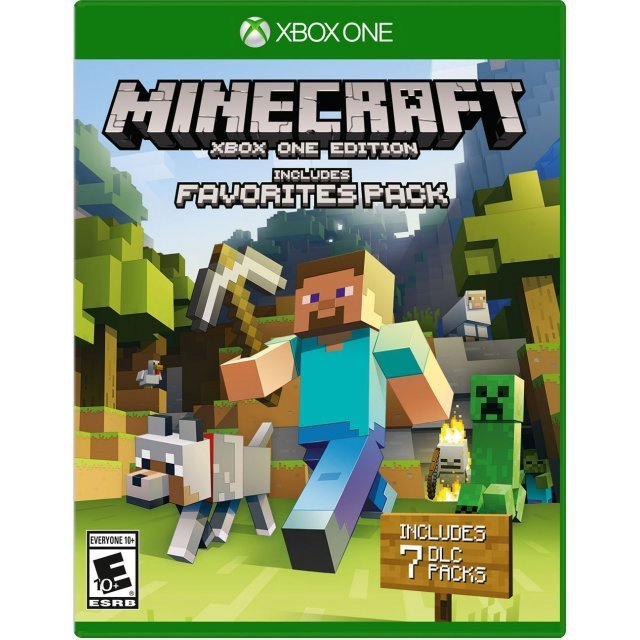 Minecraft: Xbox One Edition [includes Favorites Pack] (English & Chinese Subs)