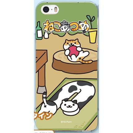 Neko Atsume Smartphone Case Ver. 2 for iPhoneSE/5S/5: Tunnel Holstein