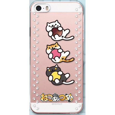 Neko Atsume Smartphone for iPhoneSE/5S/5: Ball Asobi