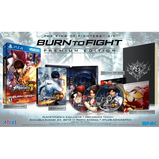 The King of Fighters XIV [Burn to Fight Premium Edition]