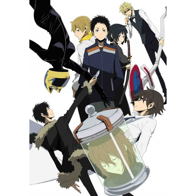 Durarara!! X2 Ketsu Vol.6 [Blu-ray+CD Limited Edition]