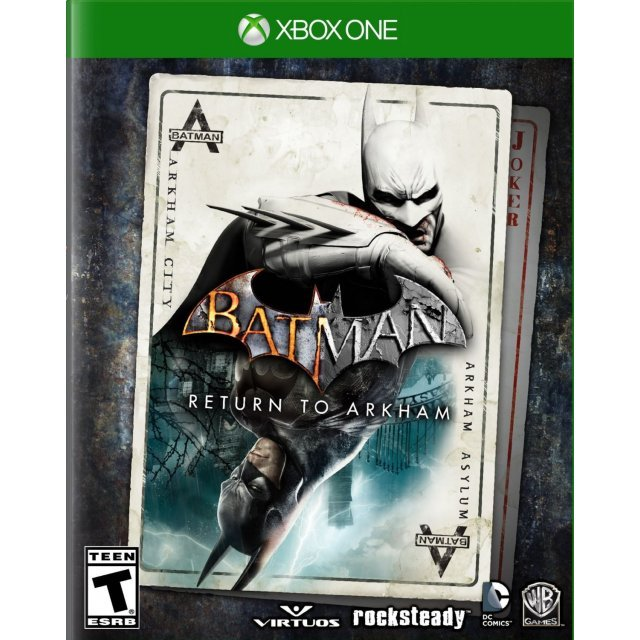Batman: Return to Arkham (English)