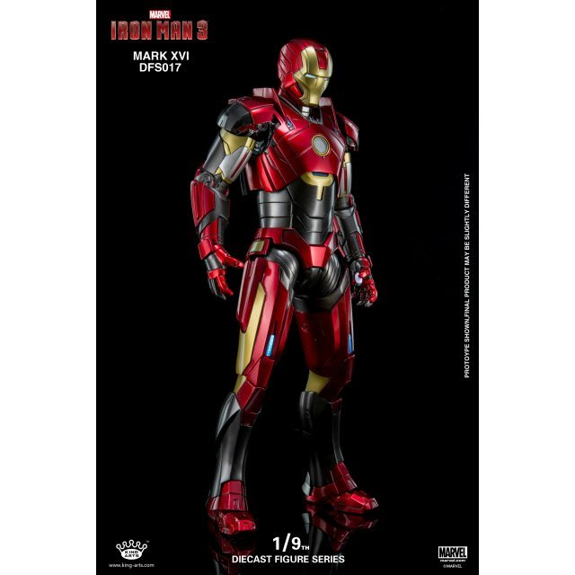 King Arts Iron Man 3 1/9 Diecast Figure Series: Iron Man Mark XVI