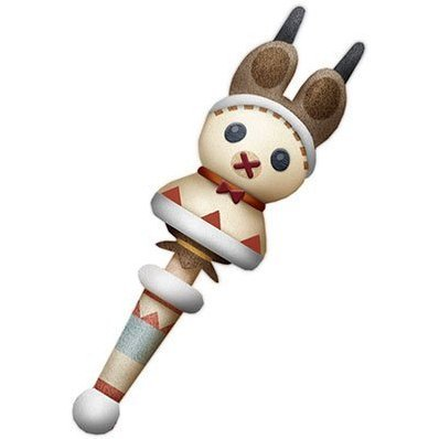 Monster Hunter X Weapon Plush: Lagombi Neko Stick