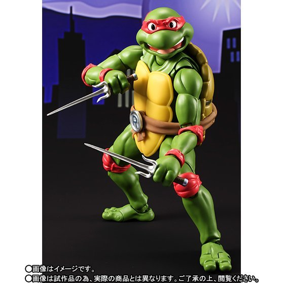 S.H.Figuarts Teenage Mutant Ninja Turtles: Raphael
