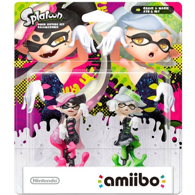 amiibo Splatoon Squid Sisters Pack (Callie & Marie)