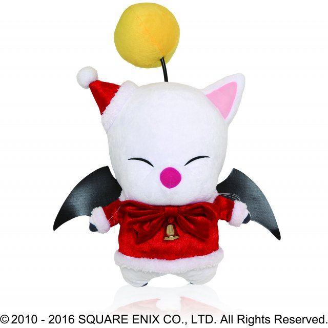 Final Fantasy Christmas.Final Fantasy Xiv Plush Moogle Christmas Ver