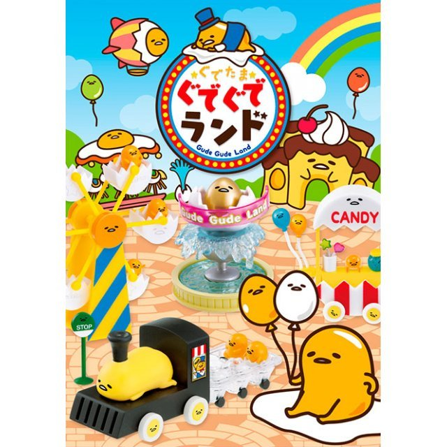 Gudetama Gude-Gude Land (Set of 8 pieces)