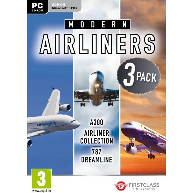 Modern Airliners Collection (DVD-ROM)