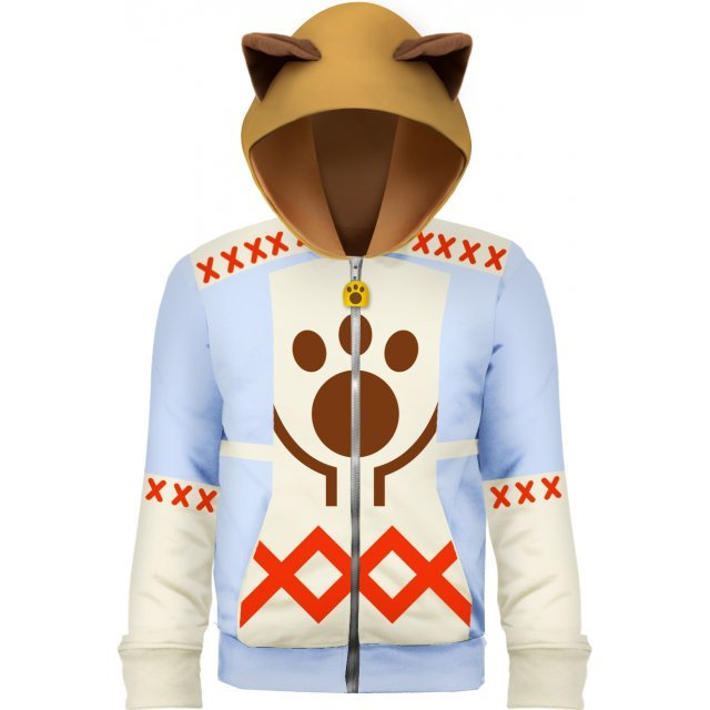 Monster Hunter X Full Zip Parka: Katy (M Size)