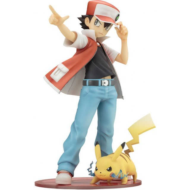 ARTFX J Pokemon Series 1/8 Scale Pre-Painted Figure: Red with Pikachu (Re-run)