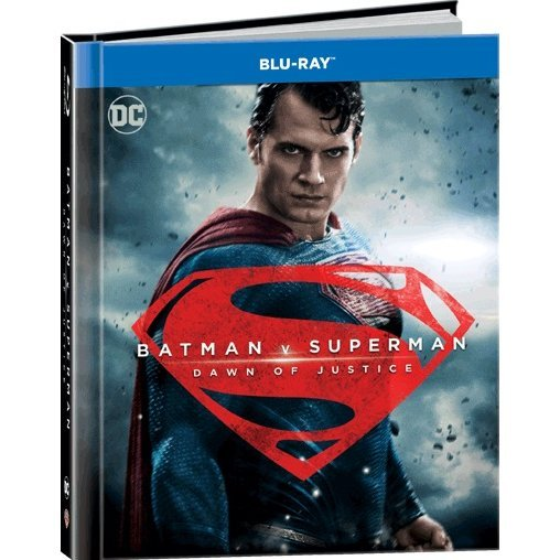 Batman V Superman: Dawn of Justice - Ultimate Edition (2-Disc Digibook)