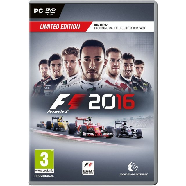 F1 2016 [Limited Edition] (DVD-ROM)