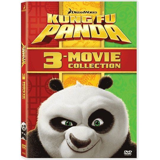 Kung Fu Panda 1-3 Movie Collection [3 Disc Boxset]