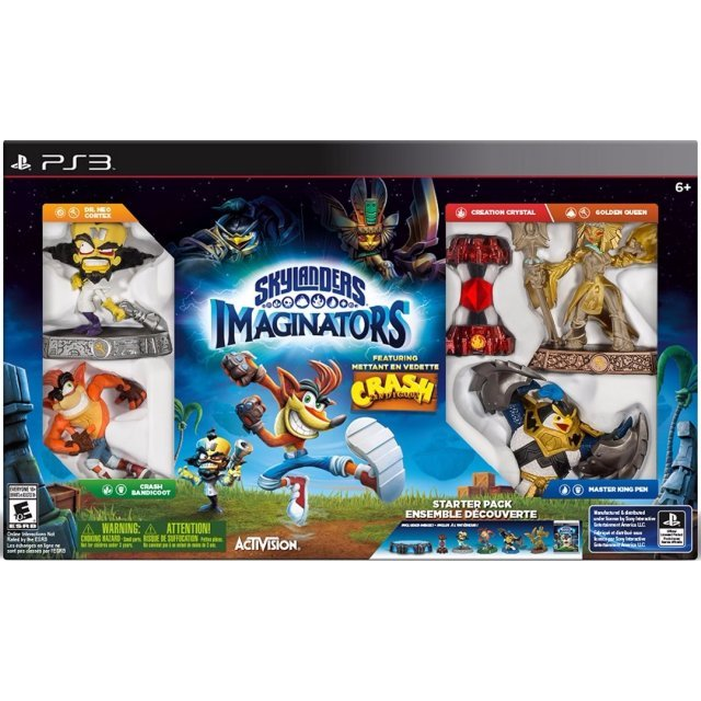 Skylanders Imaginators (Starter Pack) [Crash Bandicoot Edition]