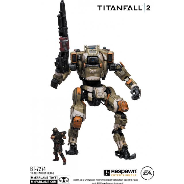 Titanfall 2 10-inch Deluxe Action Figure: BT-7274 with 3-inch Pilot Jack Cooper