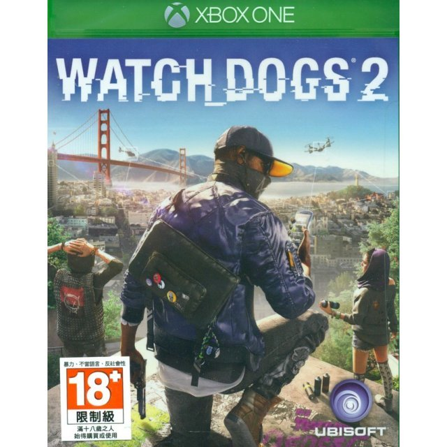 Watch Dogs 2 (English &Chinese Subs)