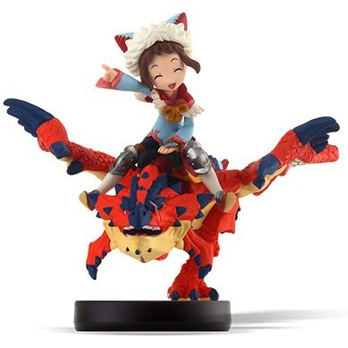amiibo Monster Hunter Stories Series Figure (One-Eyed Rathalos & Rider Girl)