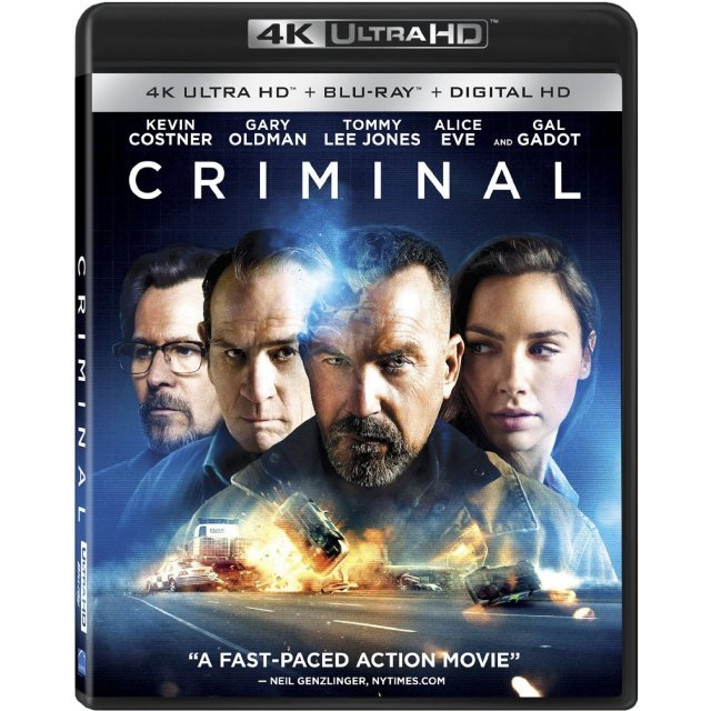 Criminal [4K UHD Blu-ray]