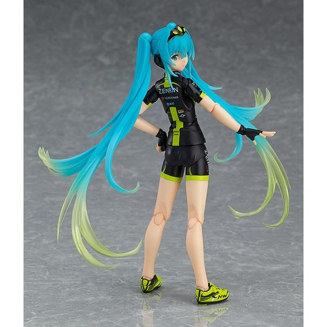 Japanese VOCALOID Character RACING MIKU Figure Team UKYO Cheering Ver Figma 307