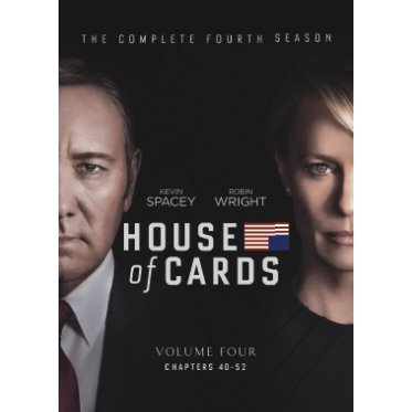 House of Cards Season 4 [4DVD]