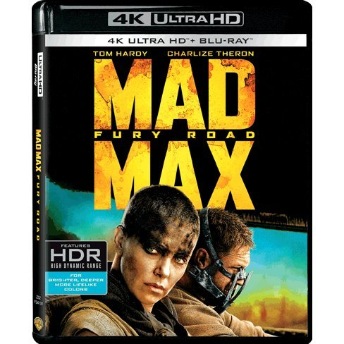 MAD MAX FURY ROAD [4K UHD Blu-ray + Blu-ray]