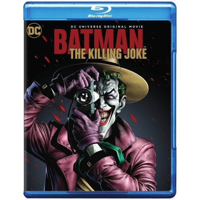 Batman: The Killing Joke [Blu-ray+DVD+Digital HD]
