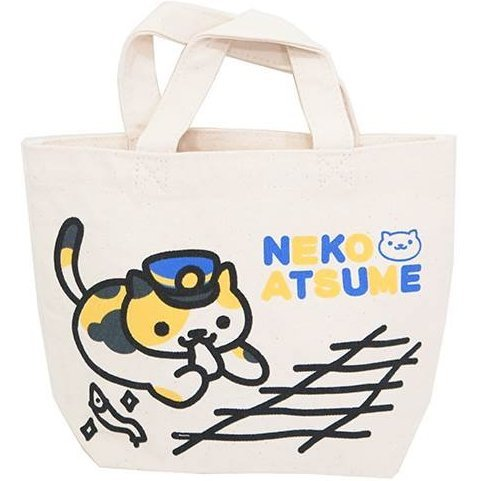 Neko Atsume Mini Tote Bag 2 Ekicho-san