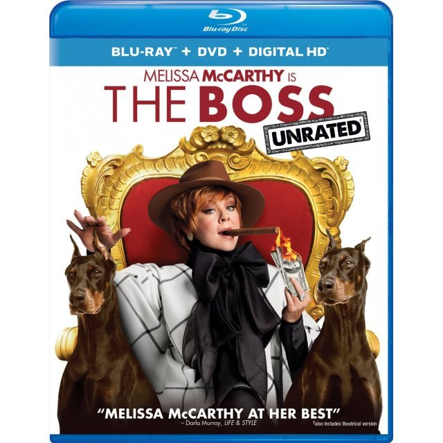The Boss [Blu-ray+DVD+Digital HD]