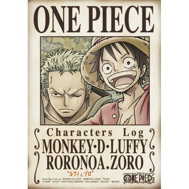 One Piece Characters Log - Luffy And Zoro