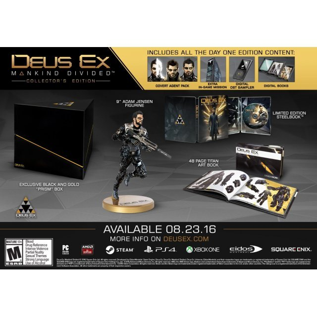 Deus Ex: Mankind Divided [Collector's Edition] (English)