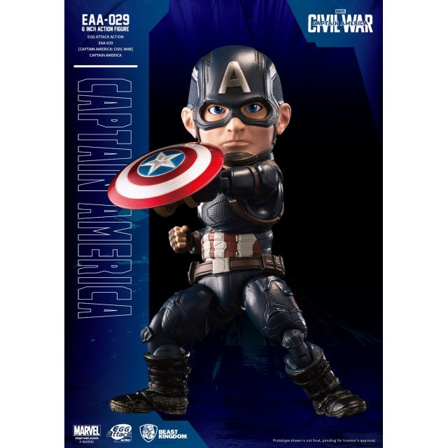 Egg Attack Captain America Civil War: Captain America