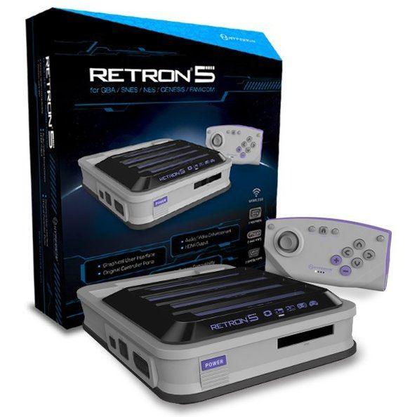 Hyperkin RetroN 5 Gaming Console (Gray)