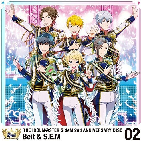 Idolm@ster SideM 2nd Anniversary Disc 02