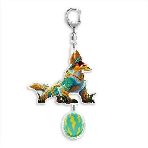Monster Hunter Stories 2 Consolidated Acrylic Keychain: Otomon Zinogre